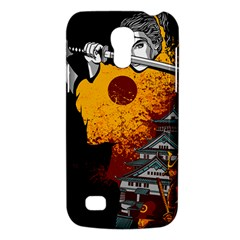 Samurai Rise Samsung Galaxy S4 Mini (gt I9190) Hardshell Case  by Contest1889920