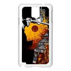 Samurai Rise Samsung Galaxy Note 3 N9005 Case (white) by Contest1889920