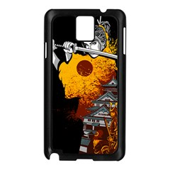 Samurai Rise Samsung Galaxy Note 3 N9005 Case (Black) by Contest1889920