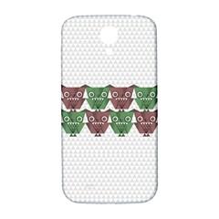 Owligami Samsung Galaxy S4 I9500/i9505  Hardshell Back Case by doodlelabel