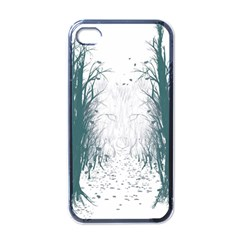 the Woods Beckon  Apple Iphone 4 Case (black) by Contest1891613