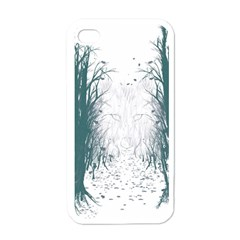 the Woods Beckon  Apple Iphone 4 Case (white) by Contest1891613