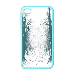 the Woods Beckon  Apple Iphone 4 Case (color) by Contest1891613