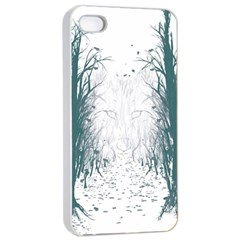 the Woods Beckon  Apple Iphone 4/4s Seamless Case (white) by Contest1891613