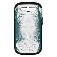 the Woods Beckon  Samsung Galaxy S Iii Hardshell Case (pc+silicone) by Contest1891613