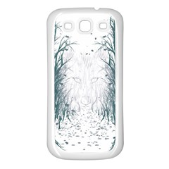 the Woods Beckon  Samsung Galaxy S3 Back Case (white) by Contest1891613