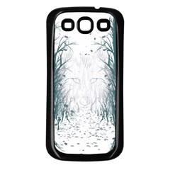 the Woods Beckon  Samsung Galaxy S3 Back Case (black) by Contest1891613