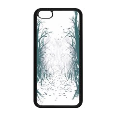 the Woods Beckon  Apple Iphone 5c Seamless Case (black) by Contest1891613
