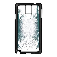 The Woods Beckon  Samsung Galaxy Note 3 N9005 Case (Black) by Contest1891613