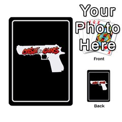 Cash N Guns   Batman Version By Twlee33 Hotmail Com   Multi Purpose Cards (rectangle)   Eruc5s9x19i6   Www Artscow Com Back 26
