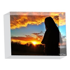Dreams In Evening Sky 5 x 7  Acrylic Photo Block by KKPOWELL