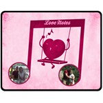 Love Notes medium blanket - Fleece Blanket (Medium)