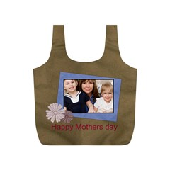Mothers Day By Mom   Full Print Recycle Bag (s)   Bm83tmnhw155   Www Artscow Com Front