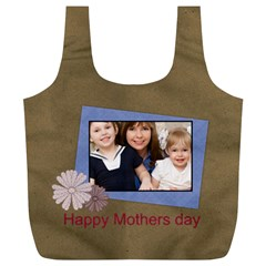 Mothers Day By Mom   Full Print Recycle Bag (xl)   9w00m8ufxvfa   Www Artscow Com Front