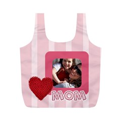 Mothers Day By Mom   Full Print Recycle Bag (m)   Ro5ir5onkbpp   Www Artscow Com Back