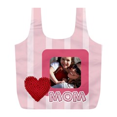 Mothers Day By Mom   Full Print Recycle Bag (l)   8giex8dfhkbc   Www Artscow Com Front