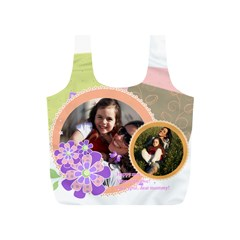 Mothers Day By Mom   Full Print Recycle Bag (s)   Zbvgnyswbw12   Www Artscow Com Front