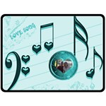 Love Song large blanket #3 - Fleece Blanket (Large)