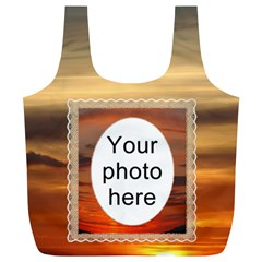 Sunset Xl Full Print Recycle Baag By Lil    Full Print Recycle Bag (xl)   K9zebq8g31gh   Www Artscow Com Front