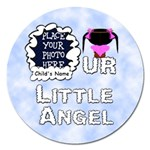 Our Little Angel Girl 5 inch Magnet - Magnet 5  (Round)