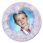 Bubbles 5 inch Magnet - Magnet 5  (Round)