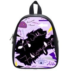 Life With Fibromyalgia School Bag (small) by FunWithFibro