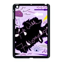 Life With Fibromyalgia Apple Ipad Mini Case (black) by FunWithFibro