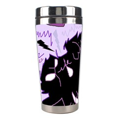 Life With Fibromyalgia Stainless Steel Travel Tumbler by FunWithFibro