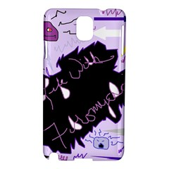 Life With Fibromyalgia Samsung Galaxy Note 3 N9005 Hardshell Case by FunWithFibro