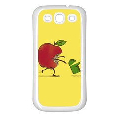 Paranoid Android Samsung Galaxy S3 Back Case (white)