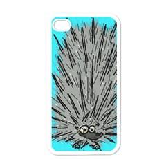 Porcupine Apple Iphone 4 Case (white)