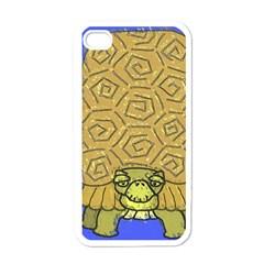 Tortoise Apple Iphone 4 Case (white)