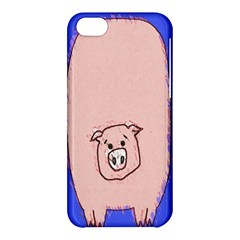Pig Apple Iphone 5c Hardshell Case by Contest1729022