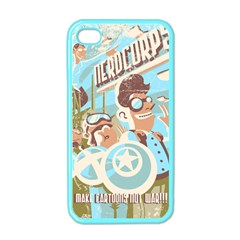 Nerdcorps Apple Iphone 4 Case (color) by Contest1889920