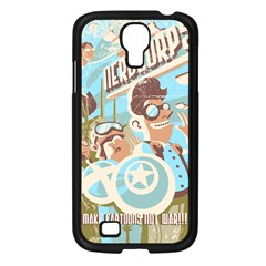 Nerdcorps Samsung Galaxy S4 I9500/ I9505 Case (black)