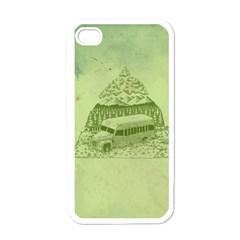 Into The Wild Apple Iphone 4 Case (white)