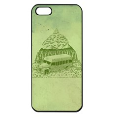 Into The Wild Apple Iphone 5 Seamless Case (black)
