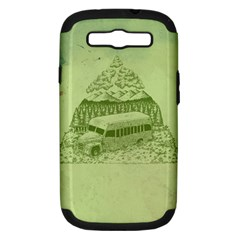 Into The Wild Samsung Galaxy S Iii Hardshell Case (pc+silicone) by Contest1893317