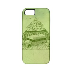 Into The Wild Apple Iphone 5 Classic Hardshell Case (pc+silicone) by Contest1893317