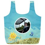Sun Sea Sand XL Full Print Recycle Bag - Full Print Recycle Bag (XL)