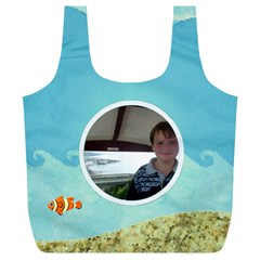 Sun Sea Sand Xl Full Print Recycle Bag By Catvinnat   Full Print Recycle Bag (xl)   Ndgf2xdh4rpe   Www Artscow Com Back