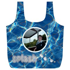 Splash Swim Bag Xl Full Print Recycle Bag By Catvinnat   Full Print Recycle Bag (xl)   O6h7o7rx0c1x   Www Artscow Com Front