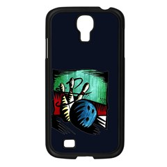 Bowling Samsung Galaxy S4 I9500/ I9505 Case (black) by Contest1852090