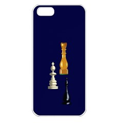 Chess Apple iPhone 5 Seamless Case (White) by Contest1852090