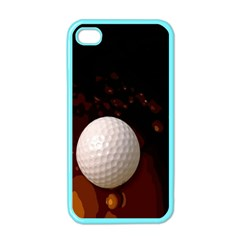 Golfball Apple Iphone 4 Case (color) by Contest1852090