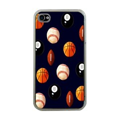 Sports Apple Iphone 4 Case (clear)