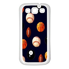 Sports Samsung Galaxy S3 Back Case (white)