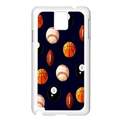 Sports Samsung Galaxy Note 3 N9005 Case (white)