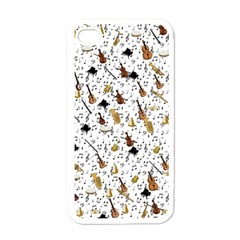 Instruments Apple Iphone 4 Case (white)