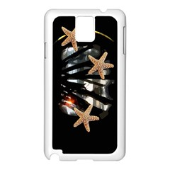 Star Fish Samsung Galaxy Note 3 N9005 Case (White) by Contest1852090